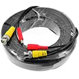 SANNCE® 30M 100 Feet Video Power Security Camera Cable for CCTV Surveillance DVR System Installation