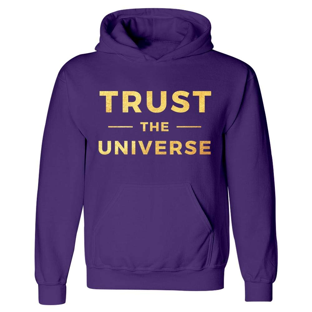 MESS Trust The Universe Mindfulness Spiritual Motivation Hoodie