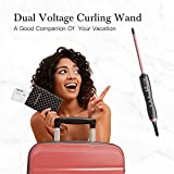 KIPOZI Thin Curling Iron, 3/10 Inch Small Curling