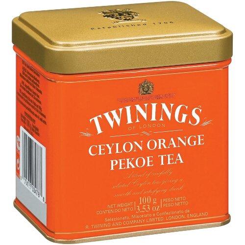 Twinings Ceylon Orange Pekoe Loose Tea Tin 100 Gram, Pack of 2 (Ceylon Blended Tea Teas)