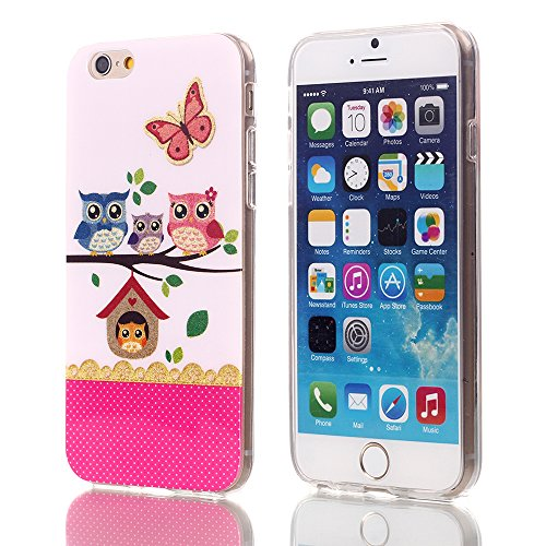 iPhone 6 Case, iPhone 6 tpu case,Vogue shop [Ultra Slim] [Perfect Fit] [Scratch Resistant] Fashion Color [kinds of OWL][ladies underwear]Pattern Design Silicone TPU Skin Case Cover For iPhone 6 6G 4.7inch .High Impact Body Armor Hard flexible and durable TPU material Hard Cases Covers Protector For Apple iPhone 6 2014 Release with one stylus /1 screen touch pen (owl family)