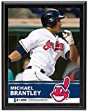 "Michael Brantley Cleveland Indians Sublimated 10.5"" x 13"" Plaque - Fanatics Authentic Certified - MLB Player Plaques and Collages"