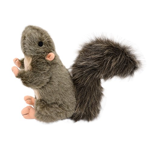 Squirrel Dog Toy Squeaky Puppy Plush Toys by KOOLTAIL