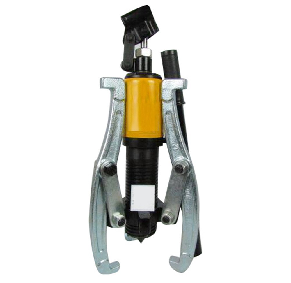 Ovovo Hydraulic Gear Puller Set 15 tons Industrial Grade Integral Type Hydraulic Puller Bearing Wheel Pulling 2 or 3 Jaws Set