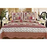 Town & Country Stitched Reversible Quilt Sets