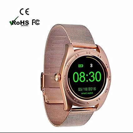 Bluetooth reloj de pulsera, teléfonos móviles Deportes reloj, análisis de calorías Reloj Deportivo,