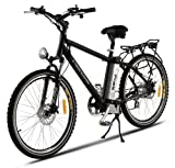X-Treme Trail Maker Elite Lithium Electric Powered Mountain Bike (Black)