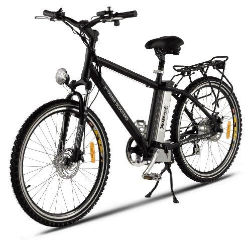 X-Treme Trail Maker Elite Lithium Electric Powered Mountain Bike (Black)