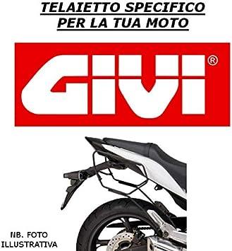 TELAIETTI T214 HONDA HORNET 600 2003 GIVI BORSE LATERALI EA101B