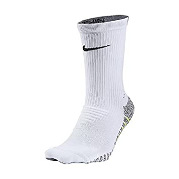 Nike M Ng LTWT Crew Calcetines, Hombre, Blanco (White/Volt),