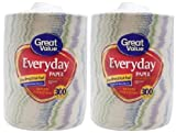 Great Value Everyday Premium Paper Plates, 8 5/8'', 300 Count - 2 Packs
