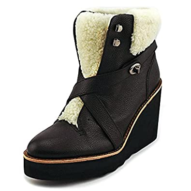 Amazon.com | Coach Kenna Women's Pebble Leather Shearling