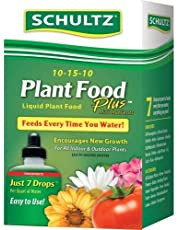 Schultz All Purpose 10-15-10 Plant Food Plus, 8-Ounce