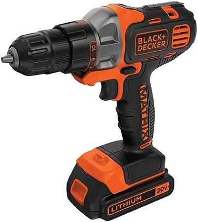 BLACK+DECKER 20V MAX Matrix Cordless Drill/Driver (BDCDMT120C)