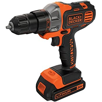 BLACK+DECKER BDCDMT120C 20-Volt MAX Lithium-Ion Matrix Drill/Driver