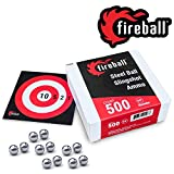 "500 Count 3/8"" Precision Slingshot Ammo Balls"