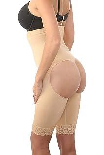 6233d6c919d64 Fullness Zonars Women s Shapewear Butt Lifter Waist Cincher Magic Short  Long Skin
