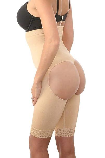 a22a667ee7faf Amazon.com  Fullness Zonars Women s Shapewear Butt Lifter Waist ...