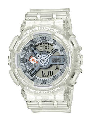 Casio G-Shock GA110CR-7A Men's Watch White/Clear 51.2mm Resin