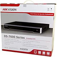 Hikvision DS-7616NI-I2/16P Embedded Plug & Play 4K NVR 16Channel Network Video Recorder Up to 12 Megapixels resolution recording English Version (Can Be Updated)