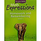 Math Expressions: Homework and Remembering, Vol. 2, Grade 3
