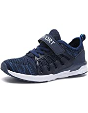 KARIDO Toddler Kids Lightweight Breathable Sneakers Athletic Running Shoes for Boys Girls