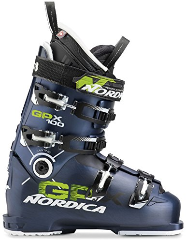 Nordica GPX 100 Ski Boots - Men's Blue (Nordica Mens Ski)