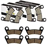 #10: CALTRIC FRONT and REAR BRAKE PAD FIT Polaris RZR S 1000 EPS 2017/RZR S 900 EPS 2015 2016 2017