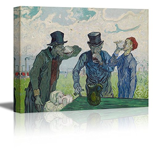 The Drinkers Vincent Van Gogh Oil Painting Reproduction