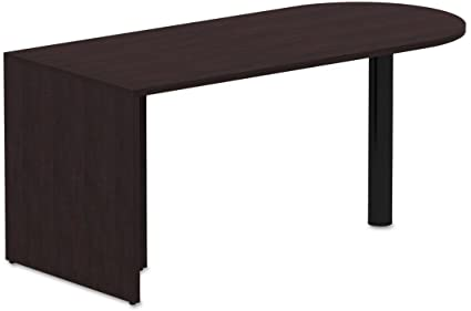 Amazon.com : ALEVA276630ES - Valencia Series D-Top Desk ...