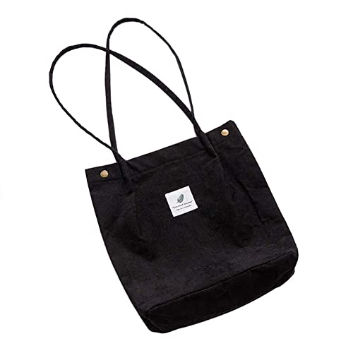 3a5ee602734ff Belsmi 15 Inches Corduroy Totes Bag
