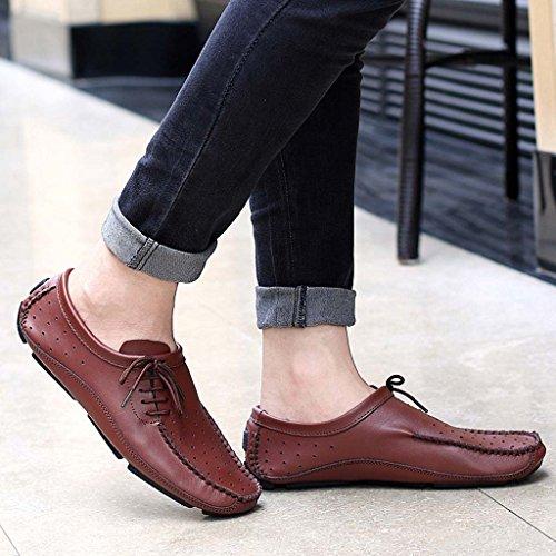 Hombres Con Cordones Fiesta Zapatillas Casual Diseñador Zapatillas De Moda Bota Alta Zapatos - Bronce, 7 UK / 41 EU