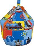 Thomas The Tank Engine Power Kids Blue Cotton Seat Chair Bean Bag with Filling