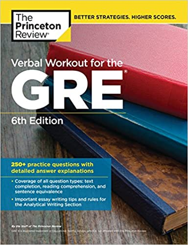 Amazon verbal workout for the gre 6th edition 250 practice verbal workout for the gre 6th edition 250 practice questions with detailed answer explanations graduate school test preparation 6th edition fandeluxe Image collections