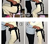 LUCKYYAN Healthcare Adjustable Shift Belt - Nursing Security Restraint Band - The elderly Walker Walk Rehabilitation Equipment Health Care for Wheelchair Users