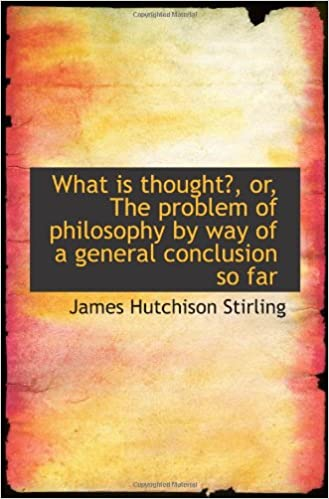 Download ebooks epub format free What is thought?, or, The problem of philosophy by way of a general conclusion so far PDF FB2