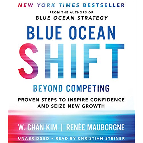 Blue Ocean Shift: Beyond Competing - Proven Steps to Inspire Confidence and Seize New Growth Audiobook [Free Download by Trial] thumbnail