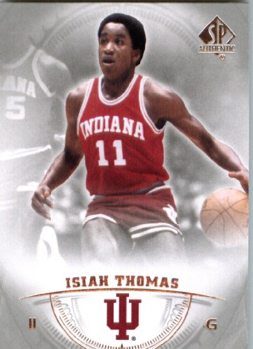 Isiah Thomas Basketball - 2014 Upper Deck SP Authentic Basketball Card (2013-14) #5 Isiah Thomas MINT