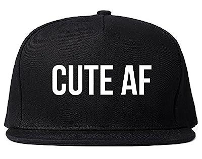Cute AF Snapback Hat Cap