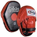 Fairtex Classic Pro Mitts, Red/Black