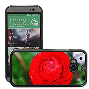 Super Stellar Slim PC Hard Case Cover Skin Armor Shell Protection // M00049273 close-up flowers giant macro garden // HTC ONE M8