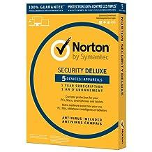 Norton Security 3.0 Deluxe 5-User 1-Year BIL