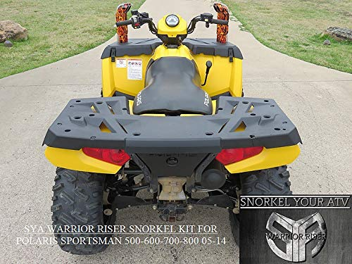 2005-14 Polaris Sportsman 400-500-600-700-800&X2 Warrior Riser Snorkel Kit Without LED Light By SYA by SYA