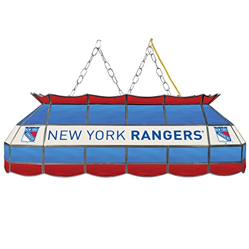 New York Rangers Pool Table Light, Rangers Billiards Table