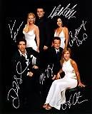 Friends TV Series Cast Signed Autographed 8 X 10 RP Photo - Mint Condition