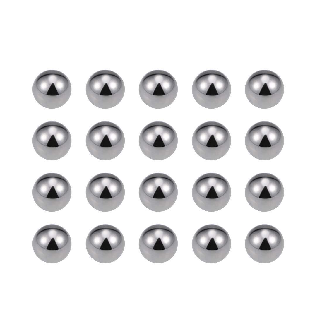 sourcing map 3//8 Rodamiento de bolas de acero al carbono Bolas de precisi/ón 100uds