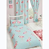 Fifi Single Duvet Cover Set + Matching Fully Lined 66' x 54' Curtains
