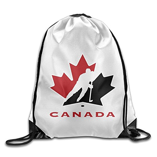 Acosoy Hockey Canada Drawstring Backpacks/Bags (Bag Drawstring Canada)