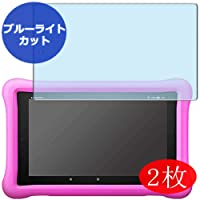 【2 Pack】 Synvy Anti Blue Light Screen Protector for Fire HD 8 Tablet Kids Model...