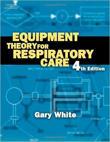 Equipment Theory for Respiratory Care: 9781401852238: Medicine ...